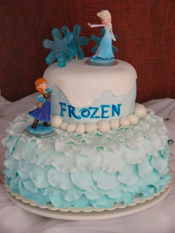 Birthday Cake Ideas Disney Frozen ~ Best images about frozen cakes on pinterest themed birthday party and elsa