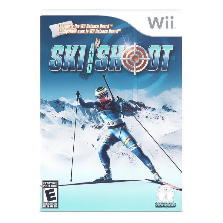 Ski and Shoot (Nintendo Wii) #ninendowii #skiing #videogames