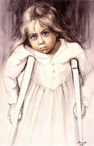 "Gabrynia, ""the Children of War"" series 1982 - Danuta Muszynska-Zamorska(Poland)"