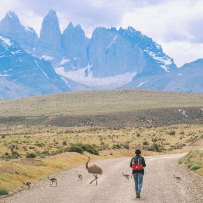 coldwindandiron:  topo-designs:  Patagonia, Argentina Topo Designs Rover Pack