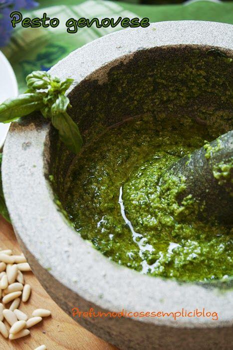 Pesto genovese (no vegan)