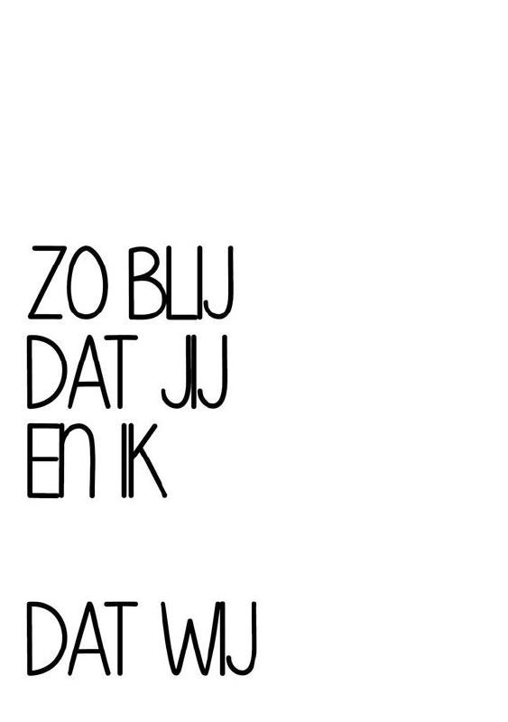 Geboortekaartje tekst