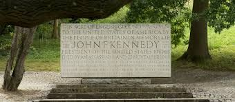John.F.Kennedy memorial in Runnymead