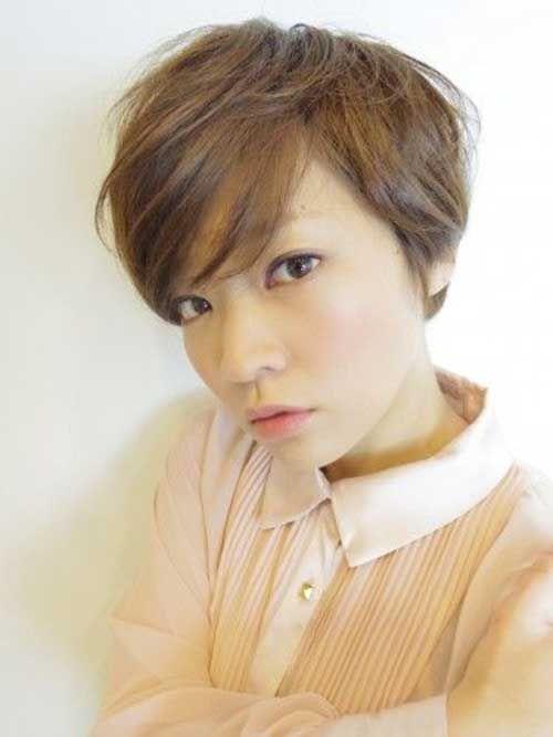 12.Cute Asian Pixie Cut
