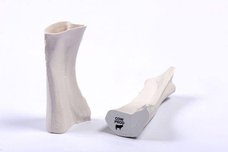 Fine Bones Contenants en porcelaine Porcelaine, cendre d'os, émail, sérigraphie