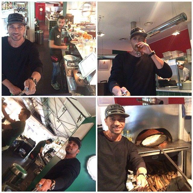 #CostantinoVitagliano Costantino Vitagliano: Pizza e si riparte...buona cena a tutti! #littleitaly #viapierodellafrancesca #milano #ristorante #pizzeria #dinner #selfie #zurigo #work
