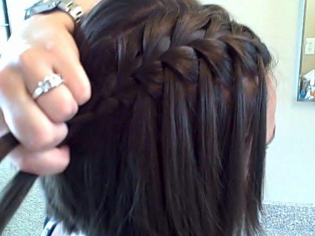 Waterfall Braid Latest Hairstyles Hairstyles Braids Video