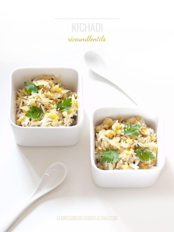 Il kichadi (indian recipe) è una ricetta ayurvedica indiana realizzata con riso basmati, fagioli mungo decorticati e ghee. @lennesimoblog