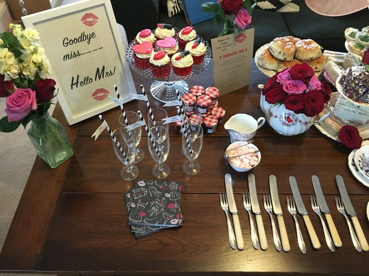 Afternoon Hen Party Tea Miss To Mrs Lipstick And Kisses Jones China Hire Www Mrsjonestea Co Uk Pinterest