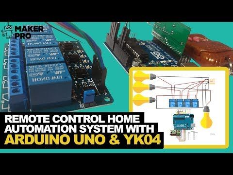 Learn how to automate your home using the YK04 RF module