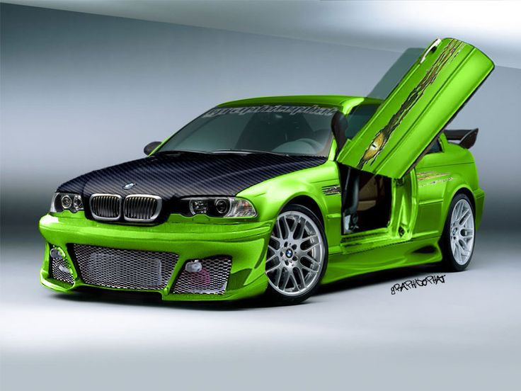 This BMW m3 is personally customized  auto body technician