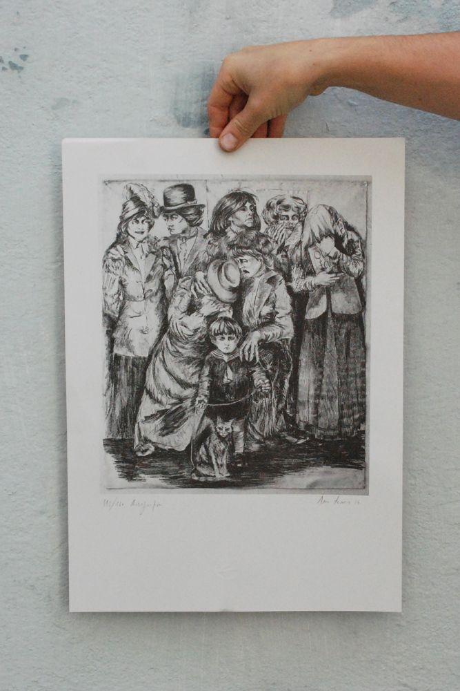 A exemplar educação de Edgar - Risografia - Ana Torrie 2014