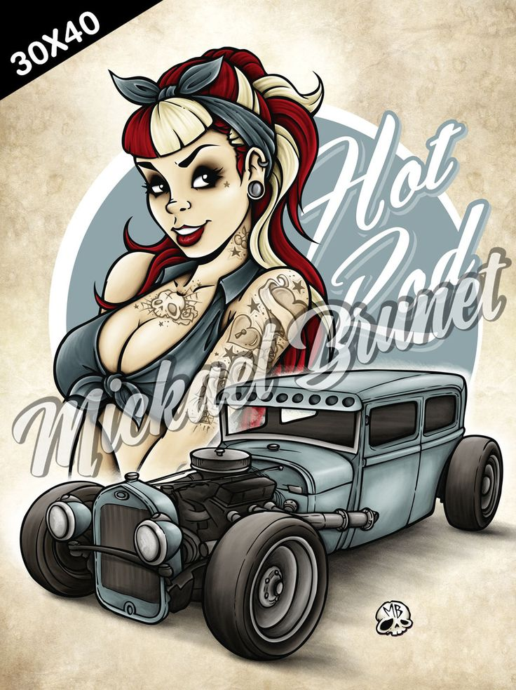 Alternative Pinup - Hot Rod