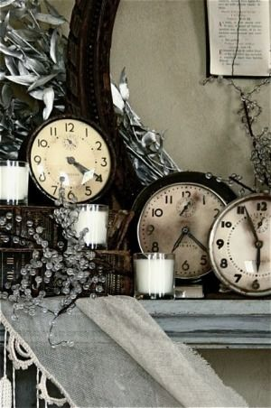 17 Best Images About Decorating With Clocks On Pinterest