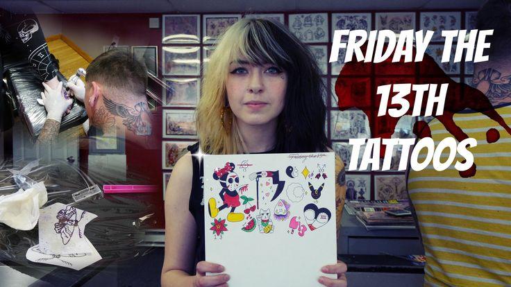 Friday The 13th, $13 Tattoos! Tattoo Talk Tuesday!