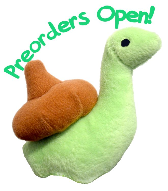 "sheldontinydino: ""  Preorders now open for Sheldon plushes! Sheldon plushes are back in stock! I'm now accepting preorders for them on Storenvy, expected delivery date is Beginning of October! (Possibly last week of September if things go..."