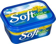 Soft Flora Spesial - melkefritt smør. Finnes i alle matvarebutikker.