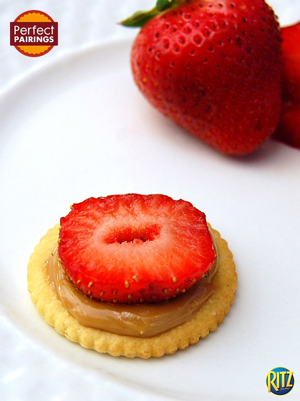 Strawberries and peanut butter: underrated combina…
