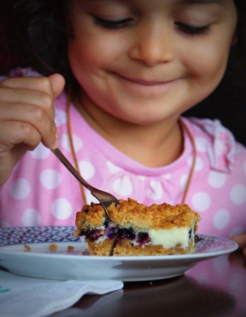 Z Kuchni Do Kuchni: Kruche ciasto z pianką i borówką amerykańską