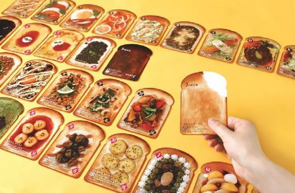 【かんたんレシピ付きトーストトランプ】思わず挑戦してみたくなるメニューが満載! - デザインインテリアや面白雑貨・デザインノベルティの通販|DZ-Style