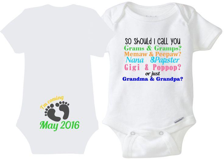 Grandpa Baby Outfit Grandpa Baby Bodysuit Grandpa Baby: 17 Best Ideas About Grandma Onesie On Pinterest