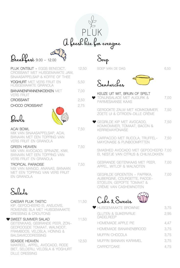 Organic Cafe Medford Menu