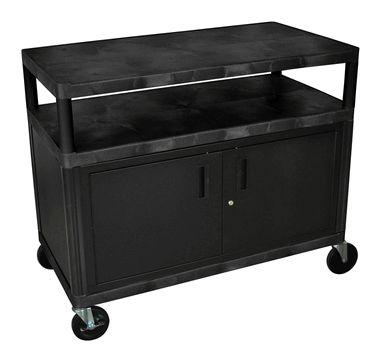 48 W Black Coffee Serving Cart
