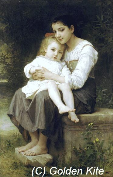 Girl with Sister