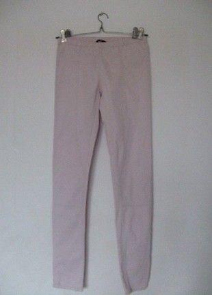 Kup mój przedmiot na #vintedpl http://www.vinted.pl/damska-odziez/rurki/698490-tregginsy-pudrowe-hm-rurki-rozowe-roz-wiosna-wiosenne-lato-50-promocja