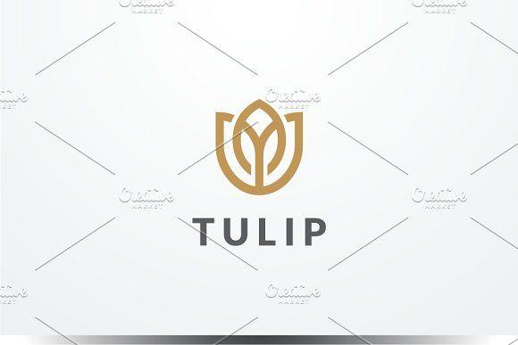 Tulip Logo by yopie on @creativemarket