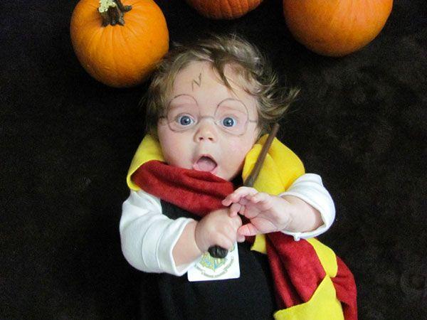 Costume da Harry Potter per neonato