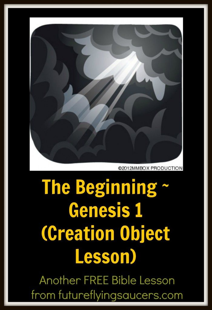 Creation Bible Lesson: The Very Good Beginning