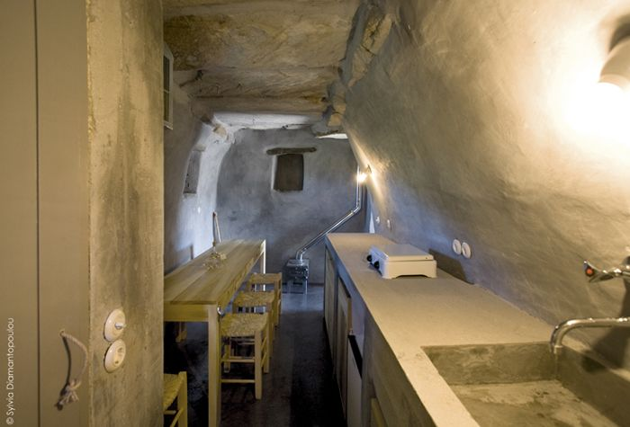 An old stone cowshed turned cottage for two Tinos, Greece