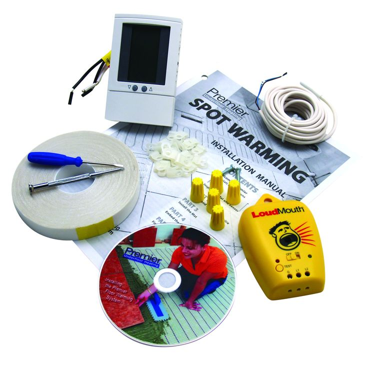 Underfloor Heating Mat Control Kit