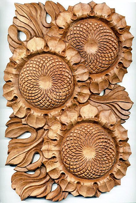 Best carving flowers images on pinterest