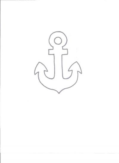 anchor  sketch By ksu2009 on CakeCentral.com