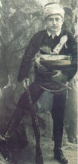 Yörük Ali Efe (a famous Zeybek Yörük Army leader during WWI and the Turkish Independence War).  Picture from the 1920s.