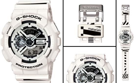 Una vez más G-Shock encuentra la manera de seguir marcando tendencias juntándose con uno de los mejores diseñadores de UK, Hardy Blechman, creador de Maharishi. Gracias a esta colaboración ha nacido el nuevo GA-110MH