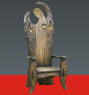 Авторская мебель — Царский трон — Кресло «Благодать»