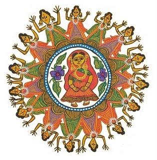 Mithila Arts - Nepali Art - We All Nepali