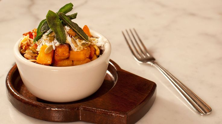 Recipe: Jimmy Bannos Jr.'s Butternut Squash with Pumpkin Seeds and Brown Butter