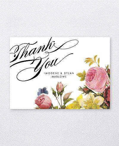 La Vie en Rose Folded Note Card