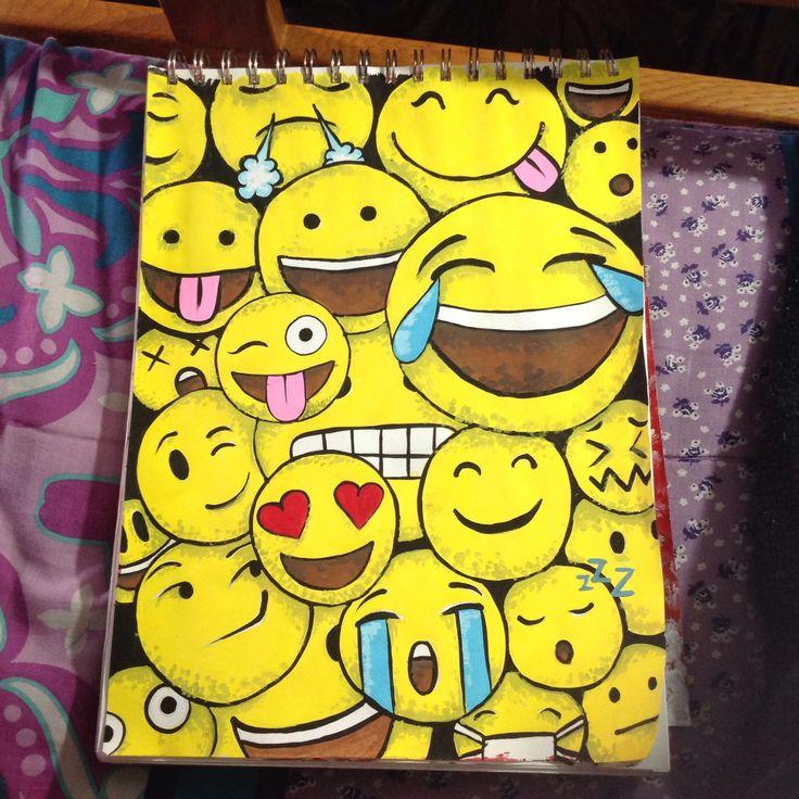 Emoji painting