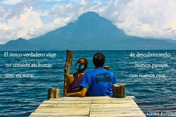 """. @Kombi Rutera : """"El único verdadero #viaje de descubrimiento no consiste en buscar nuevos paisajes, sino en mirar con nuevos ojos"""""""