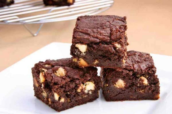 Brownie Sin Mantequilla Fácil Receta Receta De Brownies Brownie De Cacao Brownies Sin Harina
