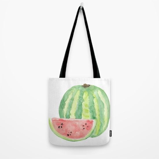 watercolour, watercolor, watermelon, melon, food, fruit