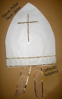 Learn about the Papal Insignia {A Pope Party!!} | Catholic Inspired ~ Arts, Crafts, and Activities!