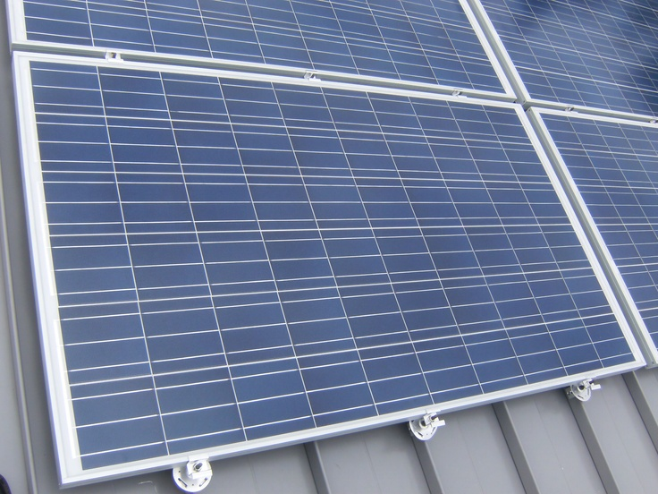 Industrial Metal Roofing With Solar Panels. Best Combo Eva! Http://www