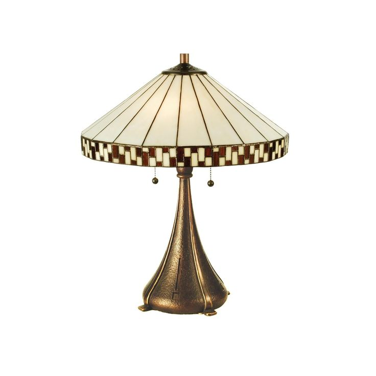 Meyda 22 Inch H Checkerboard Table Lamp