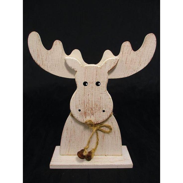 Ozdoba świąteczna renifer drewniany to magia na świąteczny czas w każdym domu. Niezapomniana atmosfera świąt bożonarodzeniowych, choinka ubrana w ozdoby świąteczne.